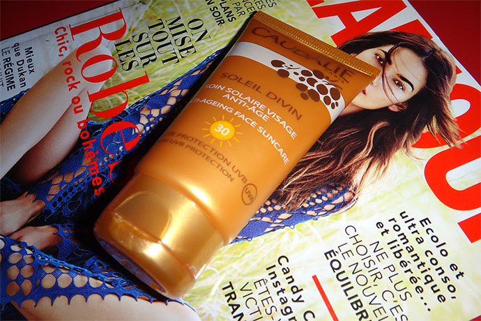 Anti-aging Face Suncare from Caudalie