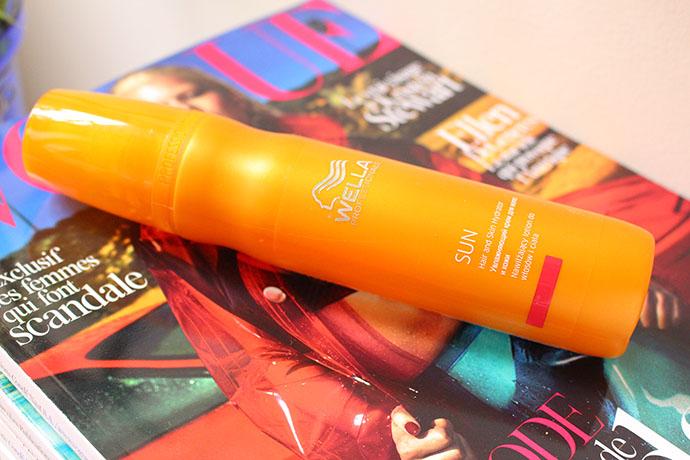 Hydratant Cheveux et Corps, gamme Sun, Wella Professionals
