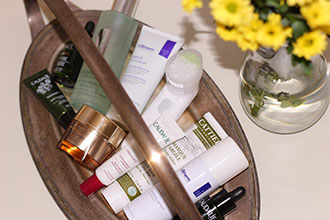 Products that I use for my post-summer skin care routine