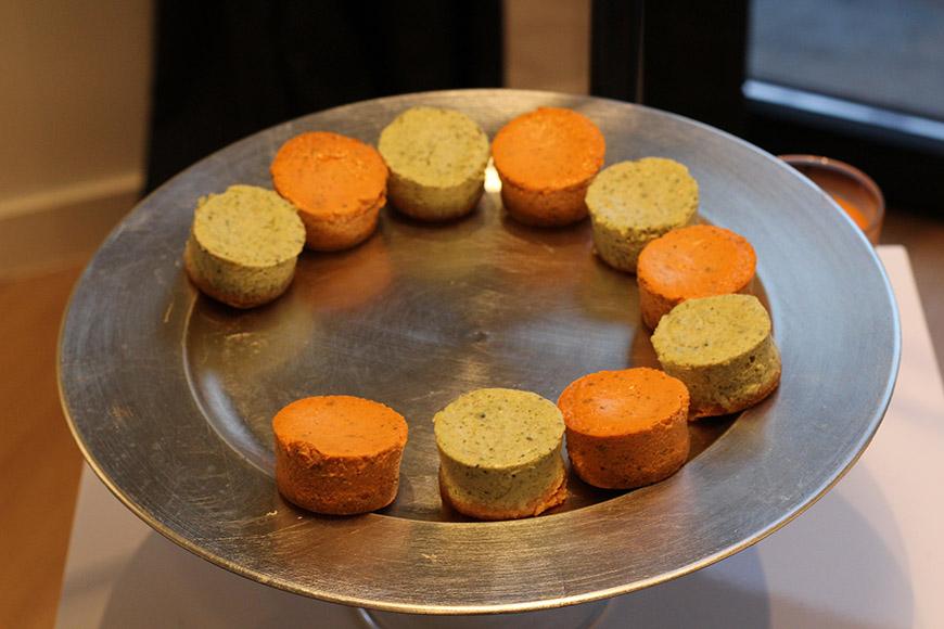 Délicatesses culinaires servies lors de l'événement
