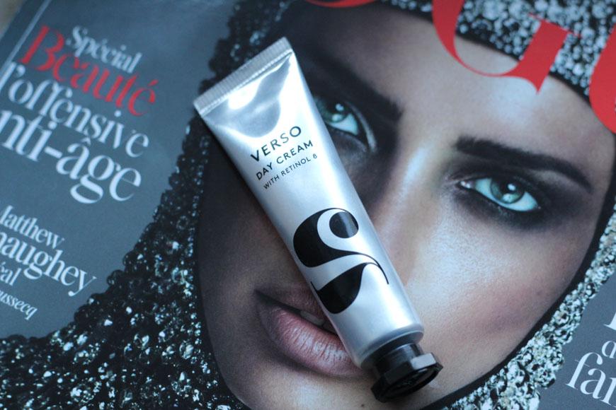 Crème de jour de Verso Skincare