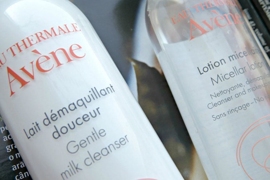Micellar Lotion and Gentle Milk Cleanser from Avène