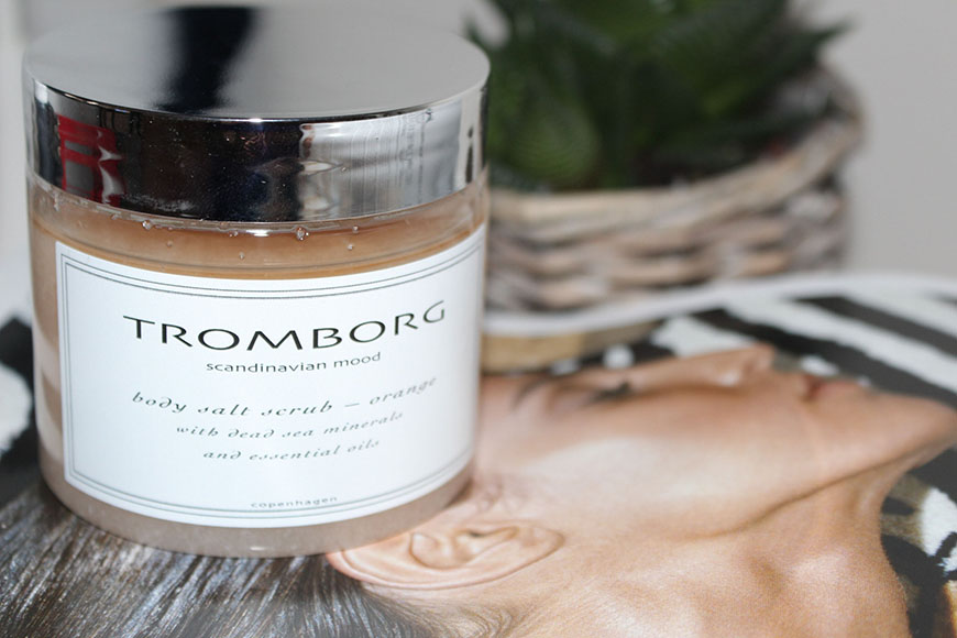 Tromborg Body Salt Scrub Orange