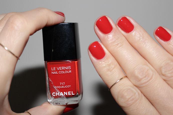 Chanel Coquelicot Nail Polish