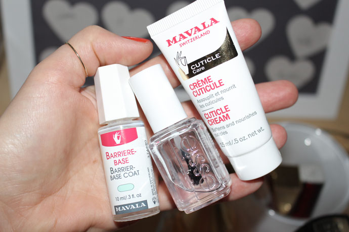 Mavala Cuticle Treatment and Products