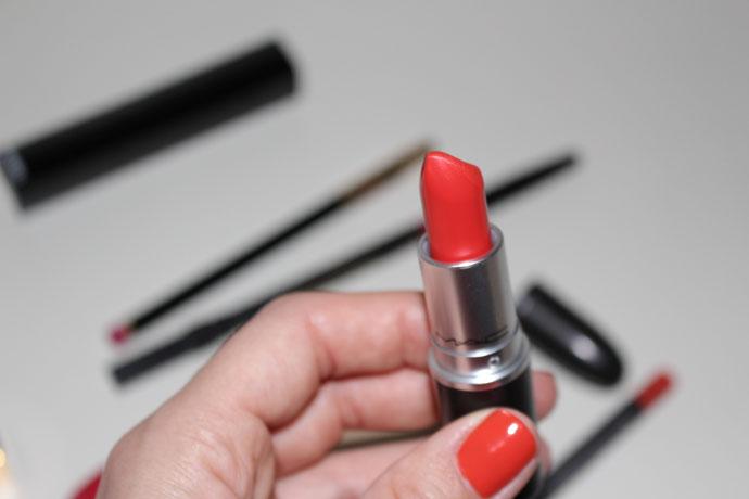 M.A.C. Lady Danger Matte Lipstick
