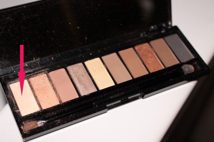 Shade number 1 - L'Oréal Paris Colour Rice La Palette Nude