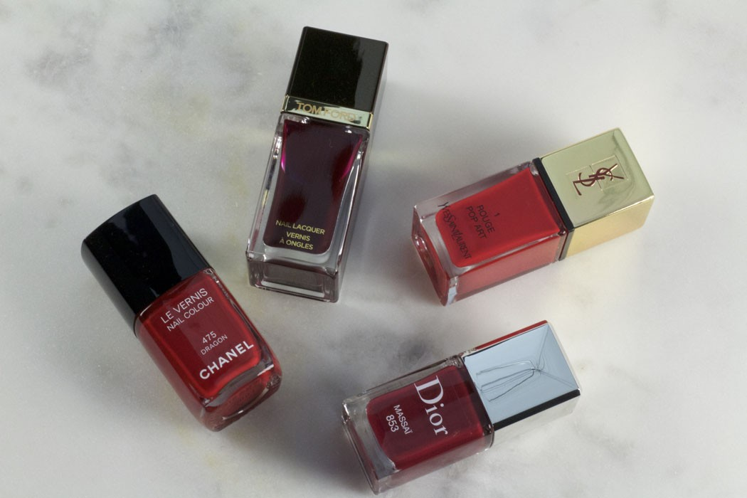 4 Fabulous Red Nail Polishes for Christmas