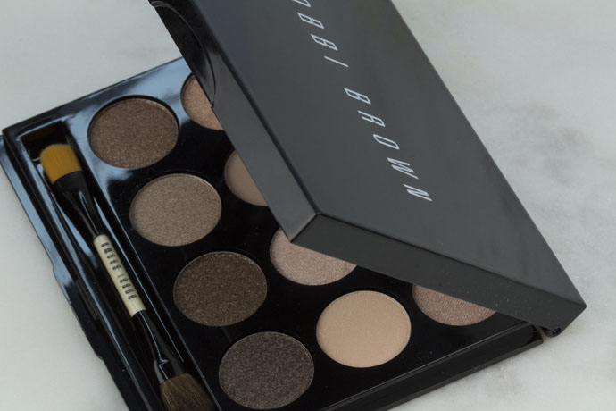 Bobbi Brown Shimmering Sands Eye Palette Swatches