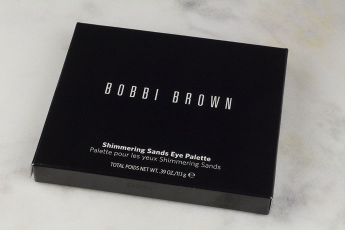 Bobbi Brown Shimmering Sands Palette Review