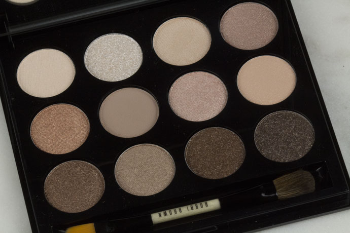 Bobbi Brown Shimmering Sands Palette Swatches