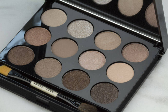 Bobbi Brown Shimmering Sands Swatches