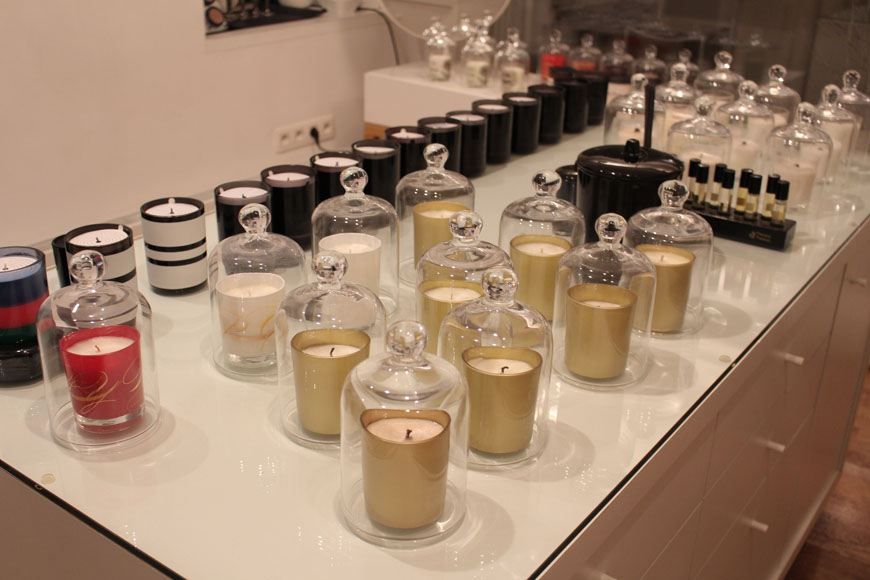 Candles at Beauty by Kroonen & Brown