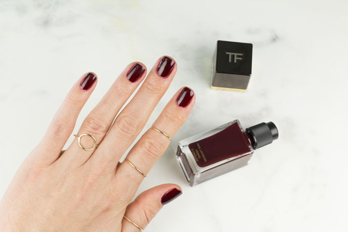 Manicure Made with Tom Ford Bordeaux Lust