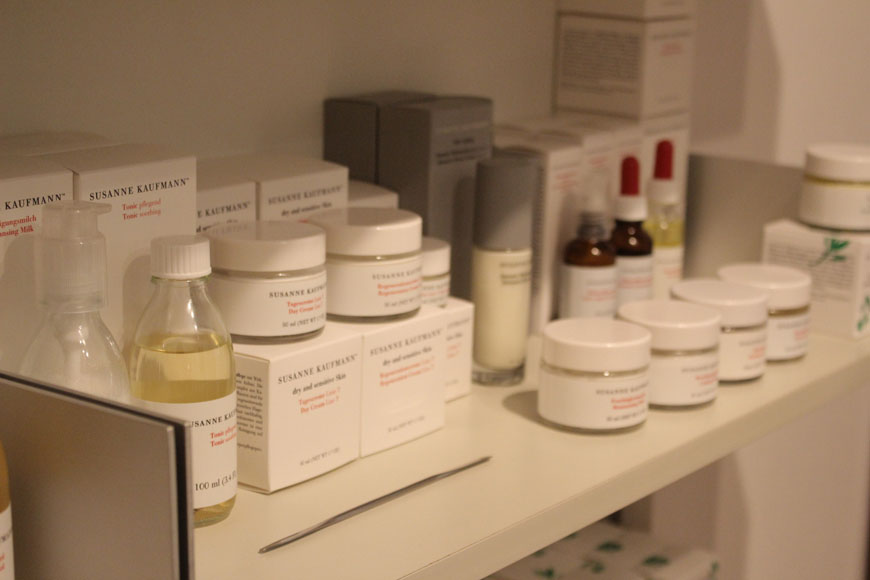 Suzanne Kaufmann Product Range at Beauty by Kroonen & Brown