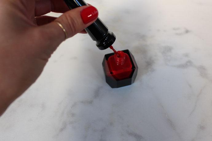 Vibrant Red Louboutin Nail Polish
