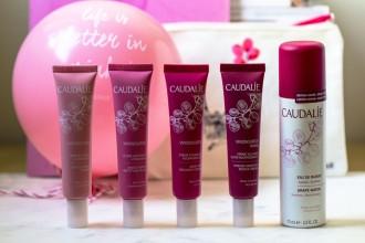 Caudalie Vinosource Event Life is better in pink !