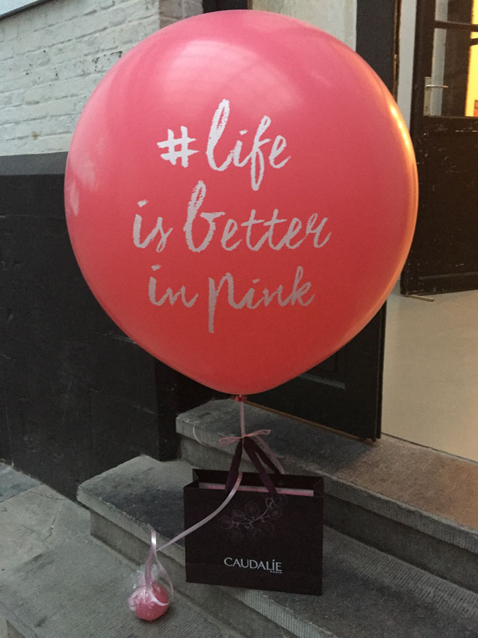 Caudalie Vinosource Life is better in pink Event