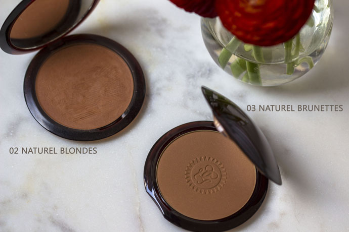 Guerlain The Bronzing Powder - Face Powder - 03 Natural Brunettes and 02 Natural Blondes Inside