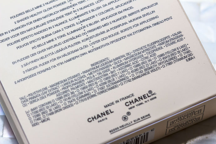 Chanel | Les Beiges Healthy Glow Multi-Colour No. 2 (Ingredients List)
