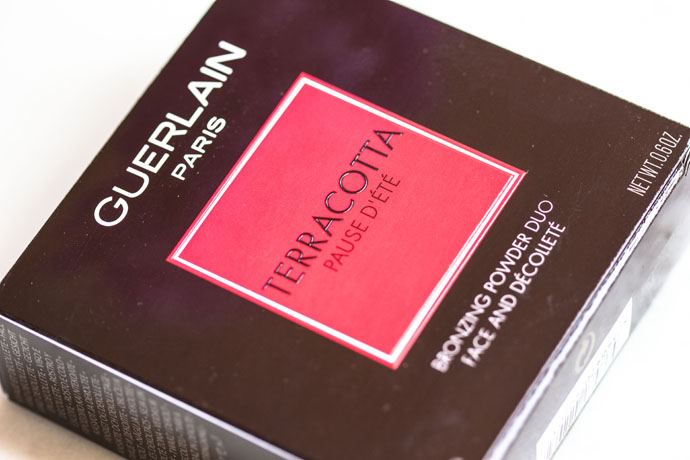 Guerlain | Terracotta Pause d'Eté Collector Bronzing Powder Duo (Package Detail)