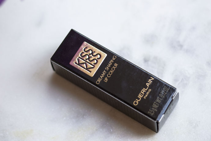 Guerlain | KissKiss Shaping Cream Lip Color in 342 Fancy Kiss (Package Detail)