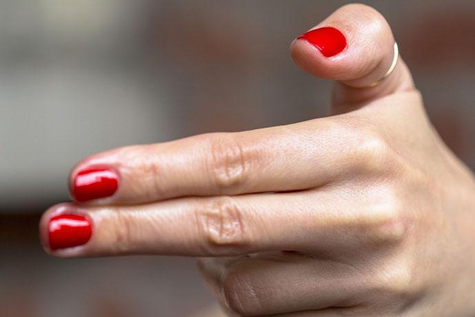 Essie | Hiking Heels (manicure)