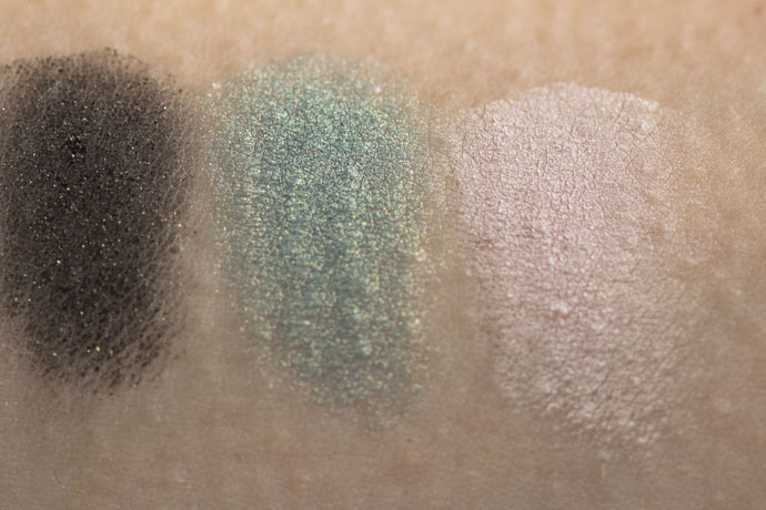Glō Minerals | Eye Shadow Trio (swatches)