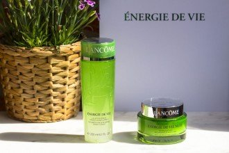 Lancôme | Énergie de vie Pearly Wake-up Lotion and Sleeping Mask