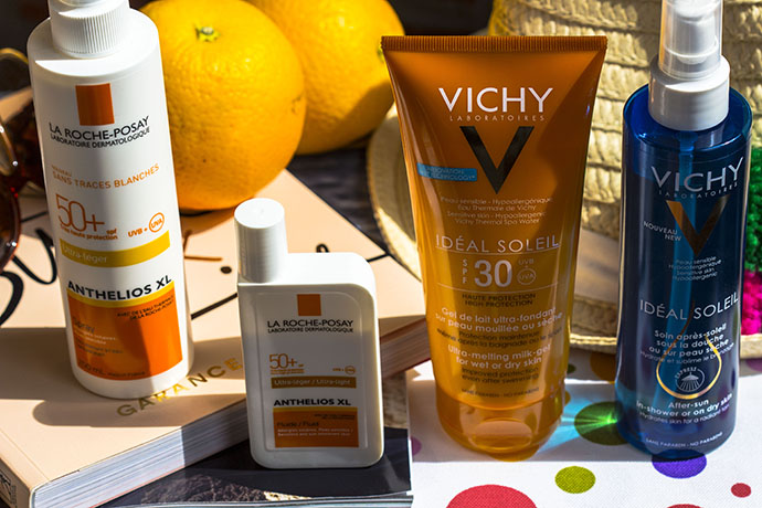 La Roche Posay | Anthelios 50+ & Vichy | Ideal Soleil