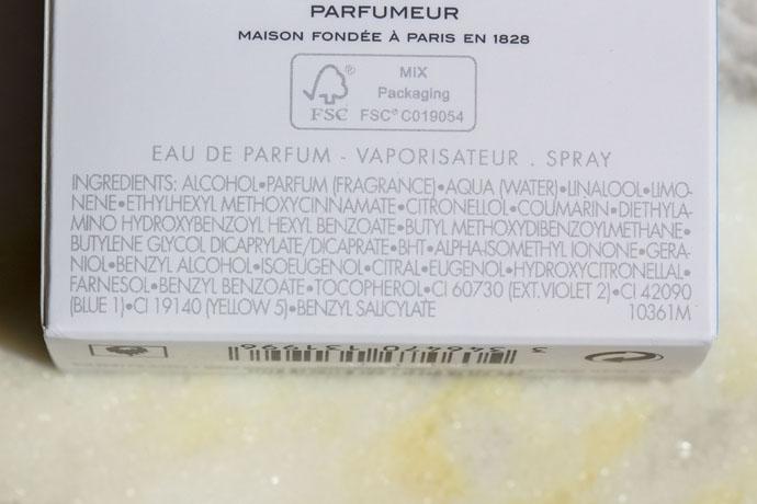 Guerlain | La Petite Robe Noire - Eau de Parfum Intense (ingredients list)