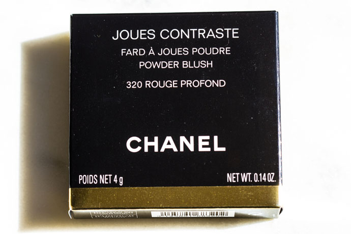 Chanel | Joues Contraste Powder Blush 320 Rouge Profond (package)