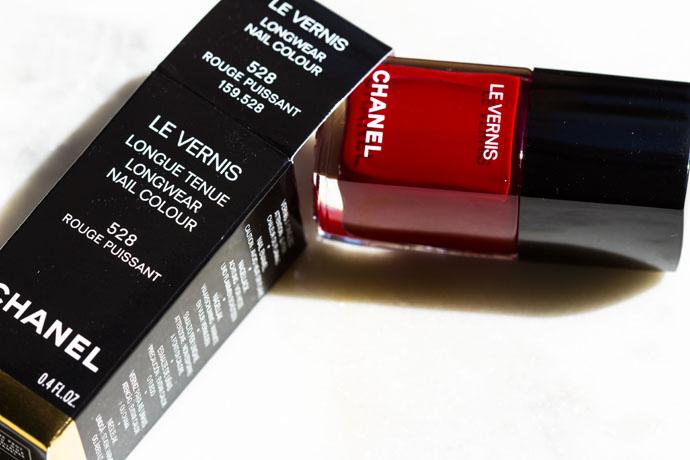 Chanel | Le Vernis Longwear Nail Colour 528 Rouge Puissant
