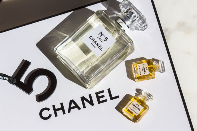 Chanel | No.5 L'Eau versus Chanel No. 5