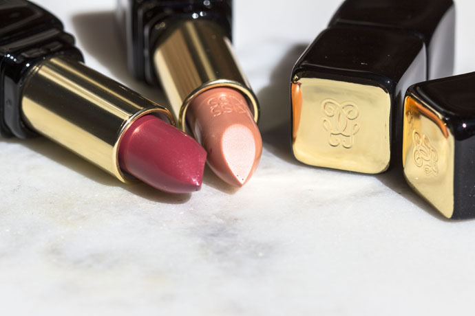 Guerlain | Kiss Kiss Creamy Shaping Lip Colour Fall 2016 in 500 Fall in Nude (right) & 520 Fall in Red (left)