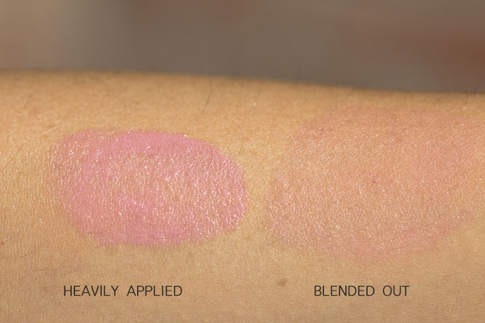 Lancôme I Cushion Blush Subtil in 02 Rose Limonade (swatches)