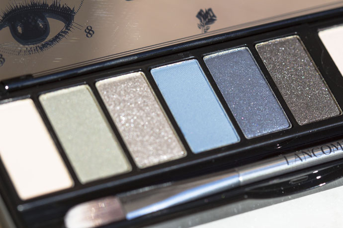Lancôme I Sonia Rykiel La Palette Saint Germain in A00 Saint-Germain (detail of the first segment)