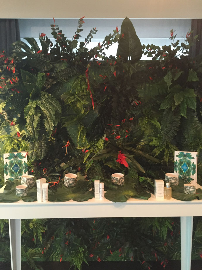 Sisley | Event | Tropical Resins Purifying Range Corner