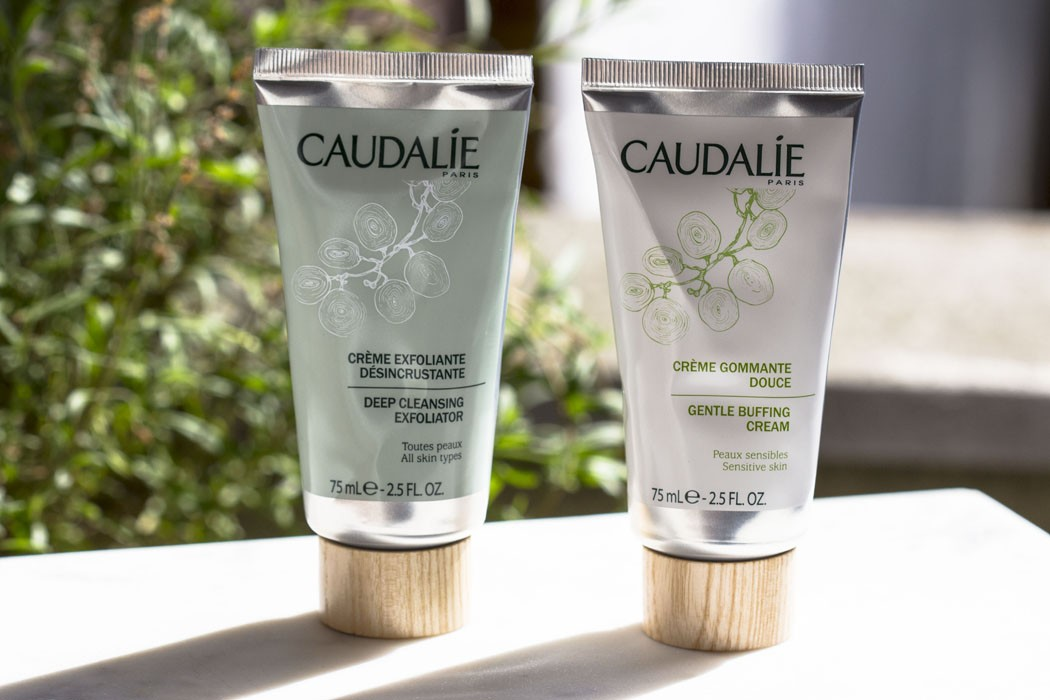 Caudalie | Gentle Buffing Cream & Deep Cleansing Exfoliator