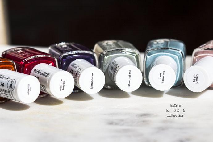 Essie | Nail Polish Collection - Fall 2016 (detail)