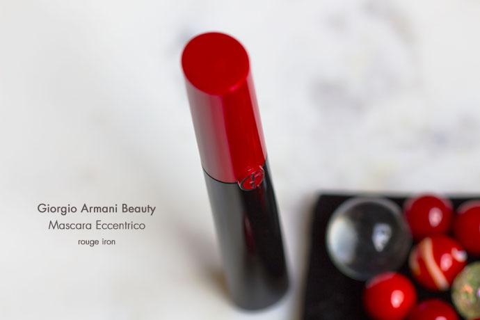 Giorgio Armani Beauty | Mascara Eccentrico in Rouge Iron