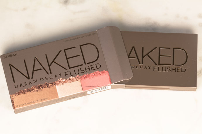 Urban Decay | Naked Flushed in Streak