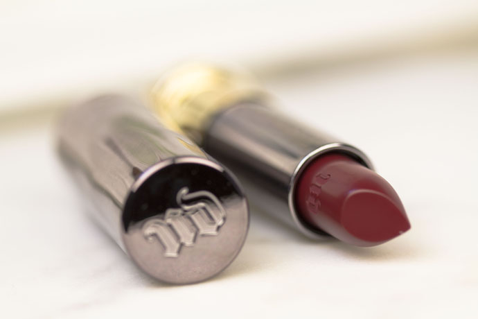Urban Decay | Vice Lipstick in Rock Steady (detail)