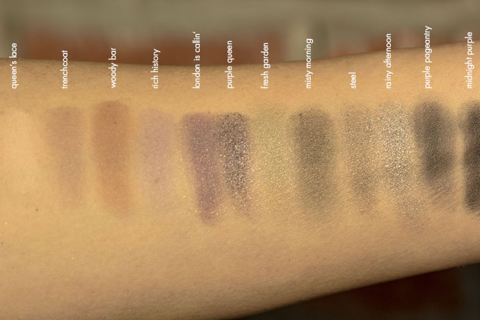 Lancôme | Auda[city] in London Eyeshadow Palette (swatches)