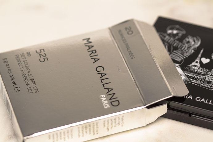 Maria Galland | Le Maquillage La Parisienne Set Sourcils Parfaits – 20 Nuances Pralinées (détail)