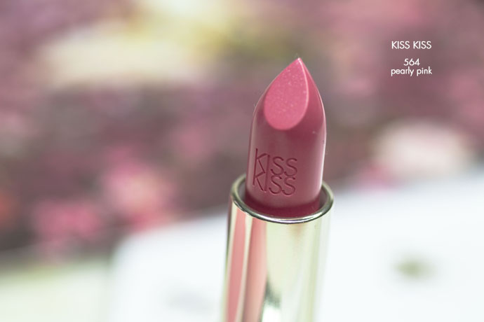Guerlain | KissKiss Lipstick 564 Pearly Pink