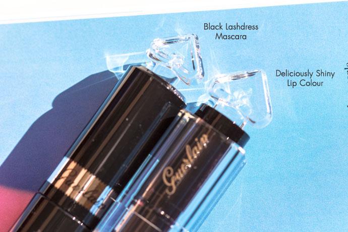 Guerlain | La Petite Robe Noire Black Lashdress Mascara & Deliciously Shiny Lip Colour (detail)