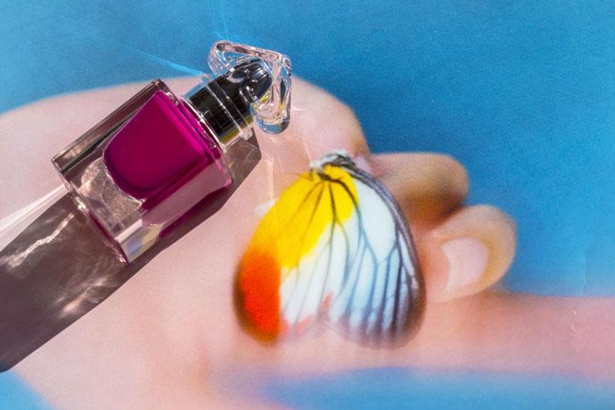Guerlain | La Petite Robe Noire Deliciously Shiny Nail Colour in 069 Lilac Belt