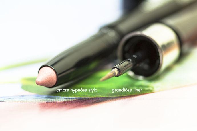 Lancôme I Ombre Hypnôse Stylo 20 Rose Lumiere & Grandiôse Liner 09 Bois de Rose