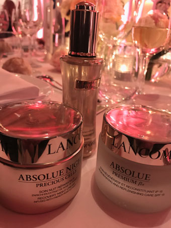 Lancôme Event (dinner table)